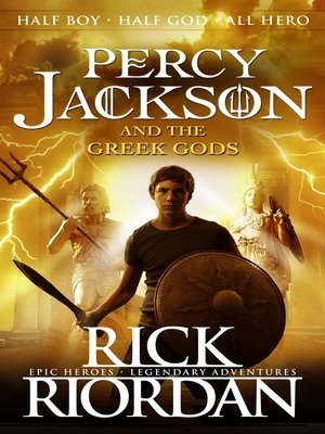 cover image of Percy Jackson and the Greek Gods
